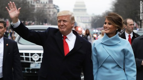 Melania Trump returns to New York
