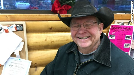 "Woody Thompson sits in the station and over coffee talks about his ""Garden of Eden."""
