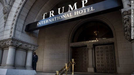 cnn money trump washington hotel gas