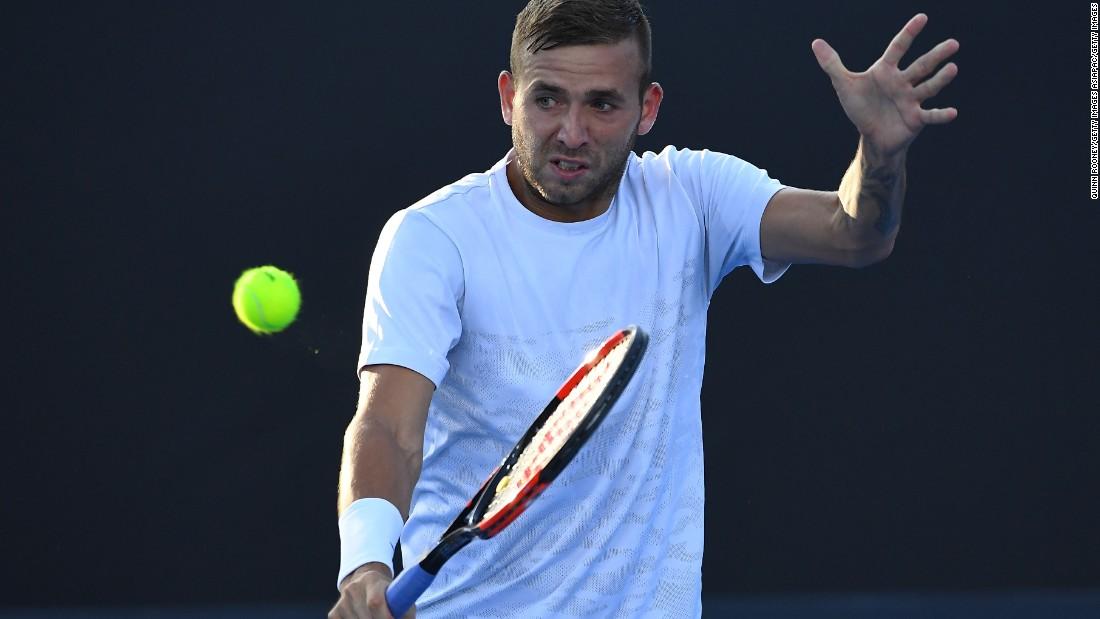 Dan Evans: No sponsor but big wins at Australian Open