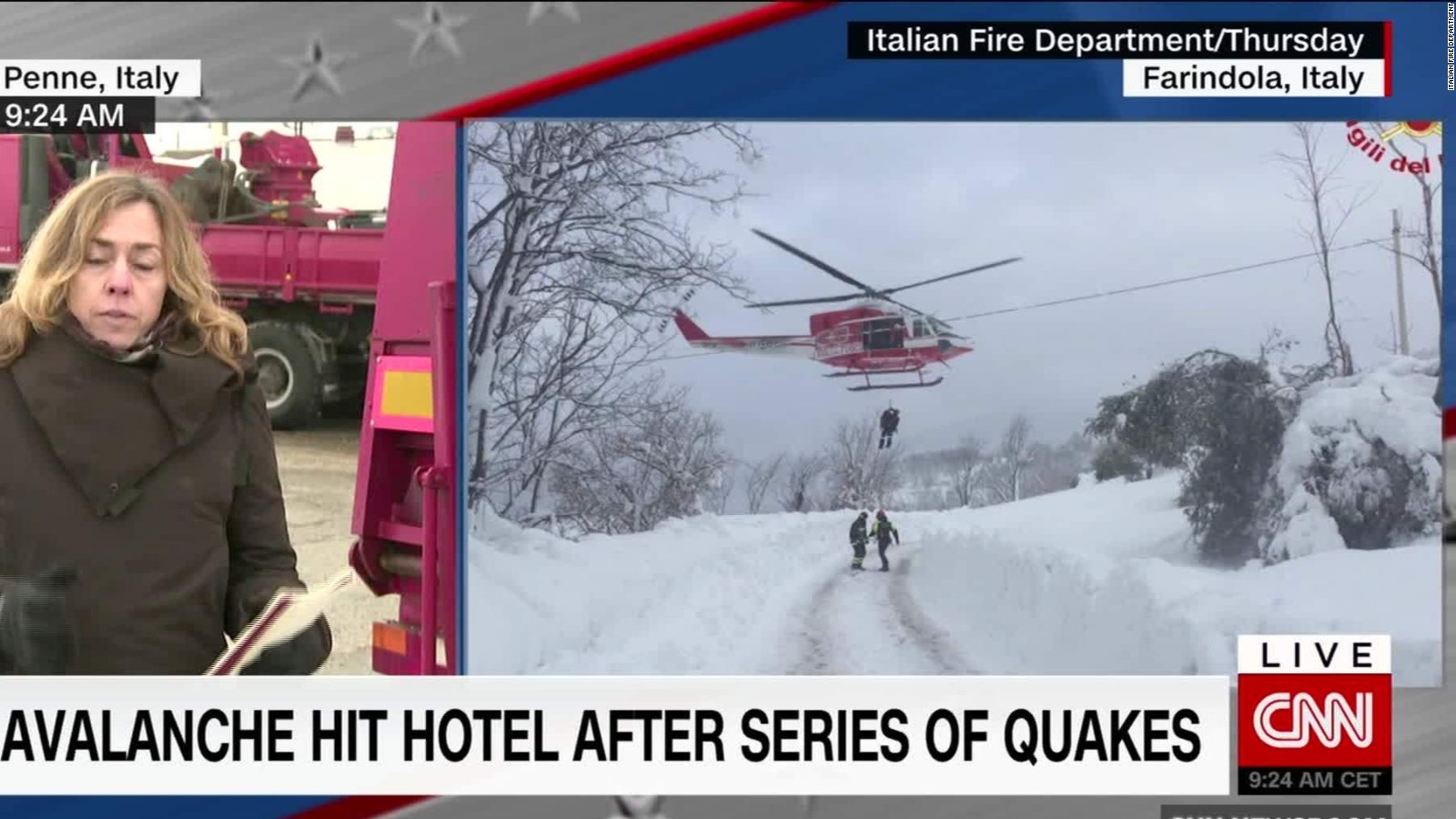 Rigopiano hotel avalanche first funerals as search goes on bbc news - Italy Avalanche Angels Angels Survivors Call Out To Rescuers Cnn Com