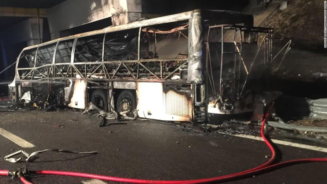Italy Bus Crash Leaves More Than A Dozen Dead