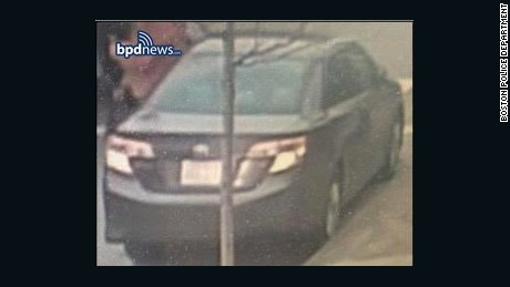 Police also release a photo of what is believed to be the individual's car.