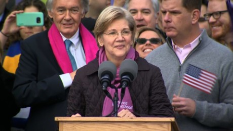 Senate GOP's effort to shut Warren up backfires