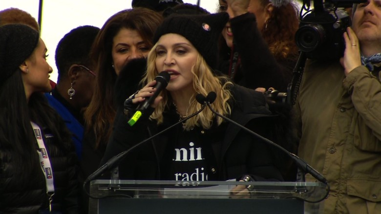 Madonna Womens March Washington_00000000