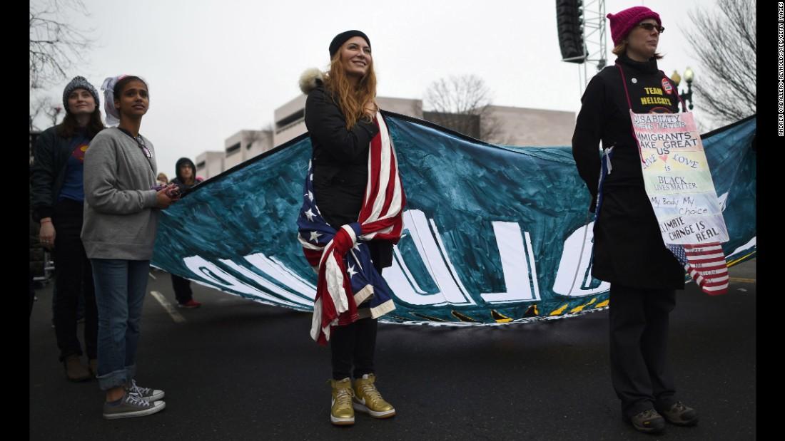 Anti-Trump protesters fill streets across the globe