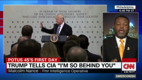 Fmr. Intel operative: Trump at CIA 'disgusting'