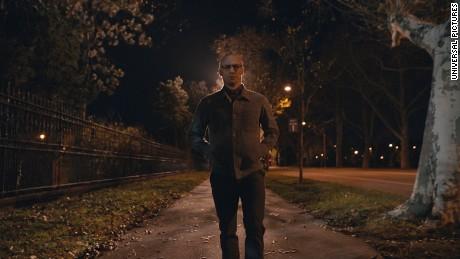 James McAvoy in Split a M. Night Shyamalan film.