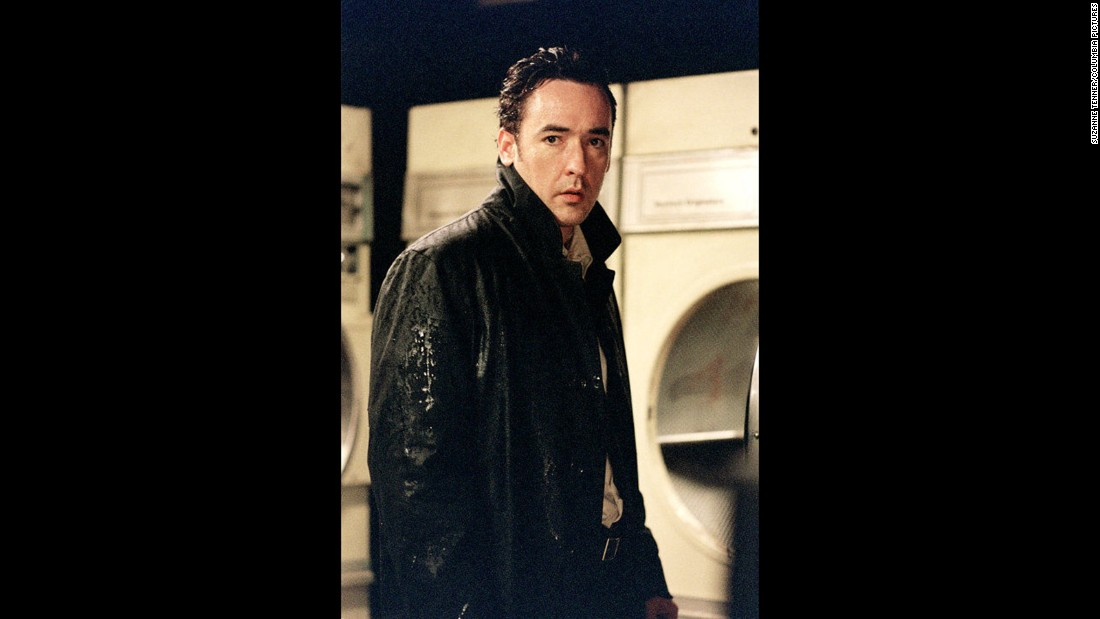 "John Cusack is one of 10 strangers, all mysteriously with the same birthday, who start being murdered one by one in ""Identity."""