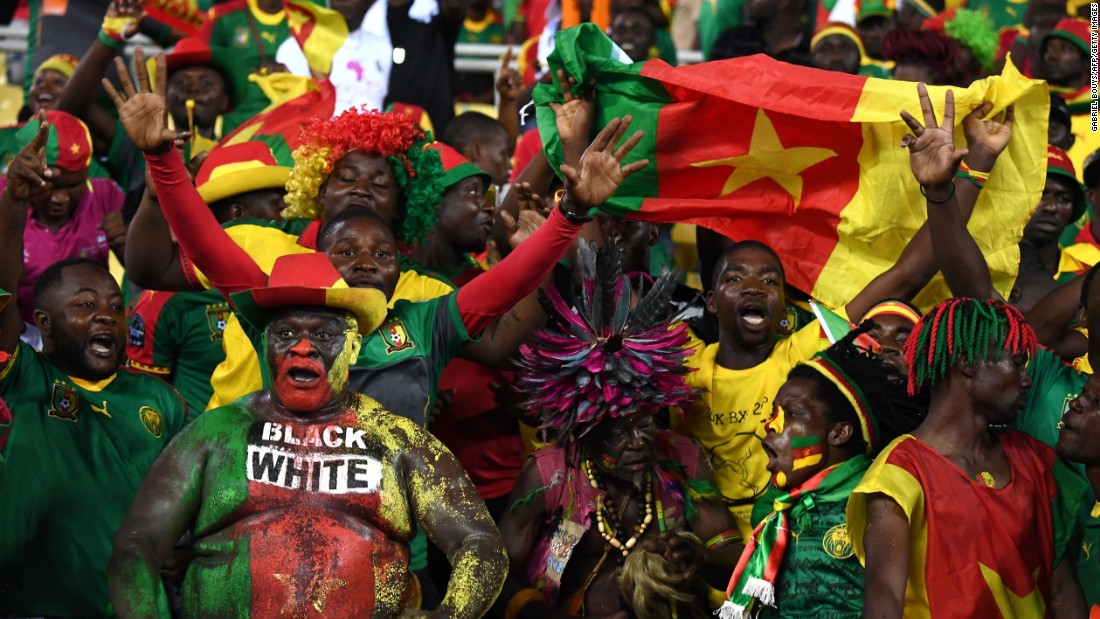 Cameroon supporters had plenty to cheer about as their side progressed out of the group stages.