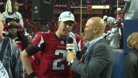 Atlanta Falcons talk Super Bowl