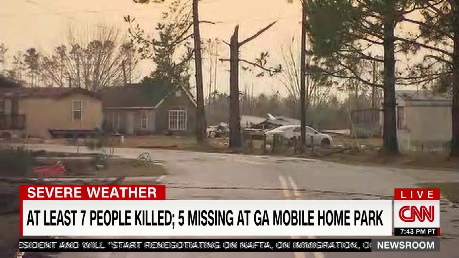 Deadly Storms Destroy Georgia Mobile Homes