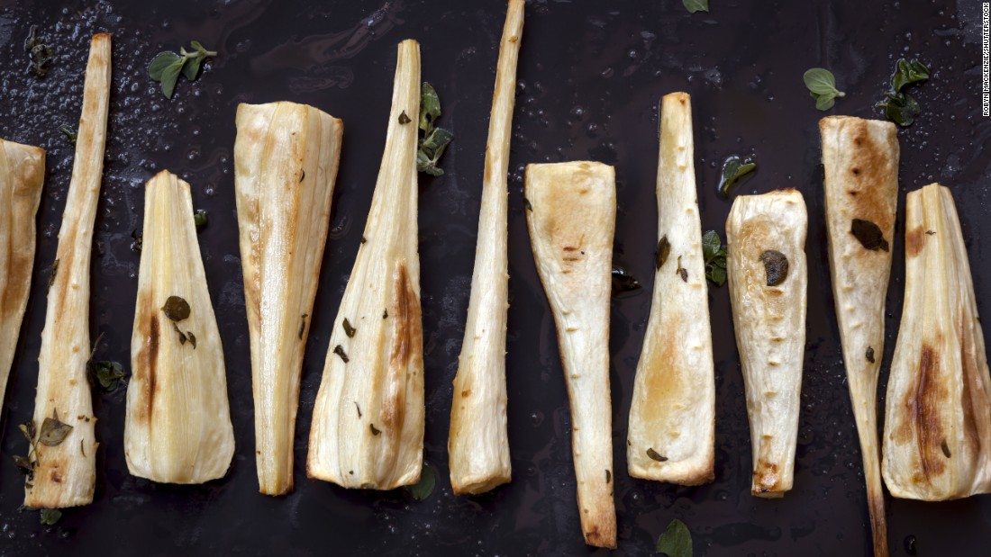 Roasted parsnips also get their taste from browning in the oven. But sticking to a golden color can reduce your risk.
