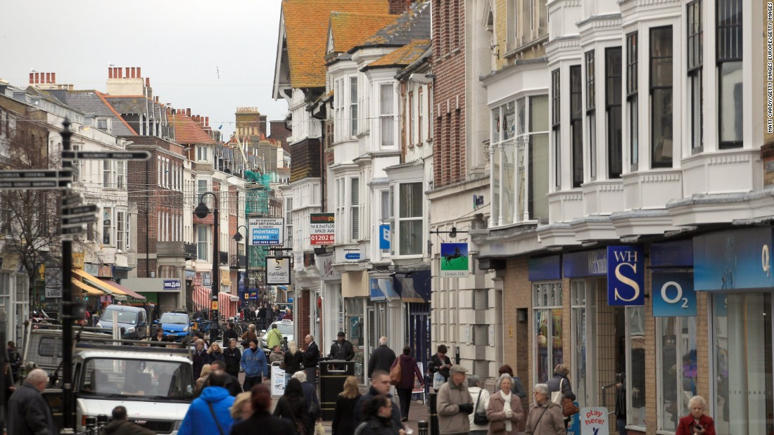 About an hour southwest of London, this housing market is the most expensive in England.