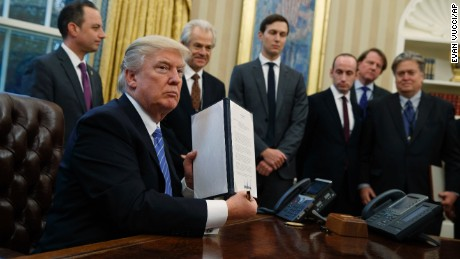Gag me: Trump's anti-abortion executive order