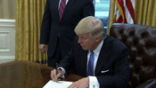 trump executive orders tpp