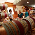 undiscovered wine regions Tasting at Stones Throw Winery_Door County Wisconsin_by Door County Visitor Bureau