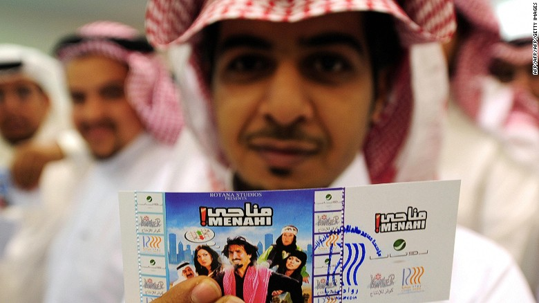 "In 2008, a rare screening of the Saudi comedy film ""Manahi"" in Jeddah raised hopes -- that were eventually dashed -- that a then three-decade ban on cinema in the kingdom could be lifted."