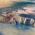 mars crater European Space Agency