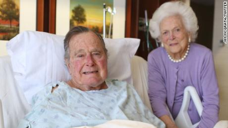 George H.W. Bush and Barbara Bush plan to attend Houston's Super Bowl just days after being hospitalized.
