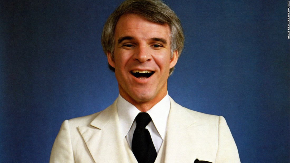 """Well, excuuuuuse me!"" Years after Steve Martin broke through the comedy scene with his boisterous and beloved stand-up routines, you can still imagine him saying that trademark line. While his comedy performances captivated audiences in the '70s and '80s and inspired comedians to come, Martin's influence has extended to film, literature, music (he plays the banjo!) and even art curation."