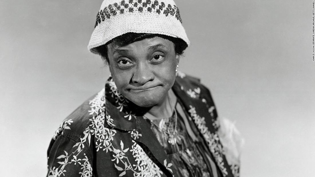 "Moms Mabley was known to black audiences for decades before she was ""discovered"" by mainstream audiences in the 1960s, and through it all the quality and cleverness of her comedy never changed. Relying on a grandmotherly persona, Mabley -- credited as <a href=""https://mobile.nytimes.com/2010/01/03/arts/03carroll.html"" target=""_blank"">the first female stand-up comedian</a> -- could be as raunchy as her younger, male counterparts, but with a slyness that proved her comic genius."