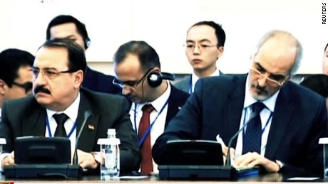 Tensions high at Syria peace talks
