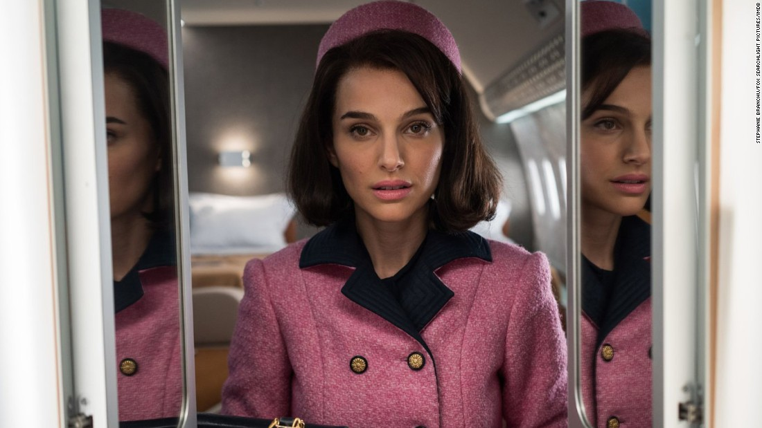 "<strong>Best actress: </strong>Natalie Portman, pictured (""Jackie""); Isabelle Huppert (""Elle""); Ruth Negga (""Loving""); Emma Stone (""La La Land""); and Meryl Streep (""Florence Foster Jenkins"")."