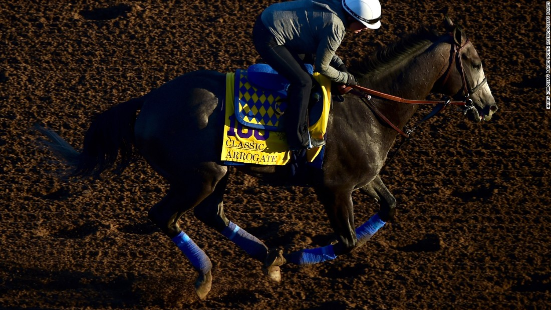 Arrogate beat California Chrome and Australian wonder-mare Winx to the coveted Longines prize.