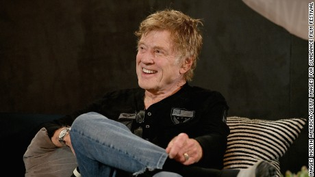Robert Redford at a press conference for the 2017 Sundance Film Festival on January 19, 2017 in Park City, Utah.