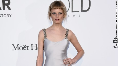 CAP D'ANTIBES, FRANCE - MAY 19:  Model Hanne Gaby Odiele arrives at amfAR's 23rd Cinema Against AIDS Gala at Hotel du Cap-Eden-Roc on May 19, 2016 in Cap d'Antibes, France.  (Photo by Ian Gavan/Getty Images)