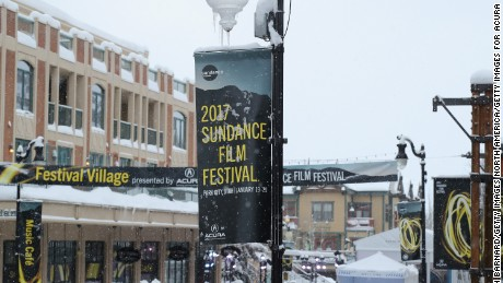 Main street at the Sundance Film Festival 2017 on January 24, 2017 in Park City, Utah.  (Photo by Neilson Barnard/Getty Images for Acura)