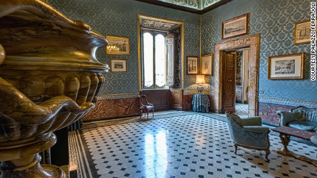 The lavish 16th-century Palazzo Ferrajoli is open for tours.