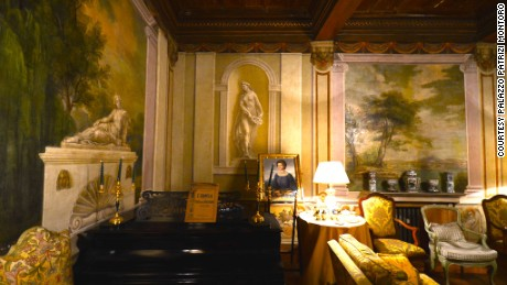 Marquis Corso Patrizi Montoro offers personally guided tours of his sumptuous Roman palazzo.