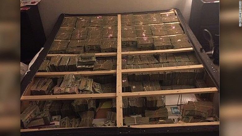 Feds find $20 million in a mattress