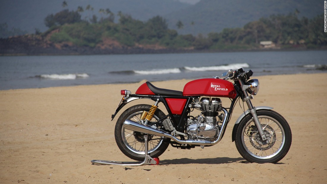 "Beloved of bikers the world over, the first Royal Enfield Bullet motorcycle hit the road in the UK in the 1930s, with the tagline ""Made like a gun, goes like a bullet."" Made by one of the oldest motorcycle companies in the world, the Bullet has even been used by the Indian armed forces. <br />"