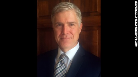 How Neil Gorsuch became Donald Trump's Supreme Court nominee