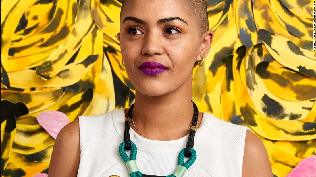"Laura Windvogel better known as Lady Skollie is a South African born interdisciplinary artist whose paintings are as alluring as they are belligerent.<br /><br />A <a href=""http://www.tyburngallery.com/exhibition/solo-exhibition/"" target=""_blank"">new exhibition, 'Lust Politics',</a> presents the artist's works on sex, desire and power.<br />"