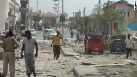 Deadly truck bomb explodes near hotel