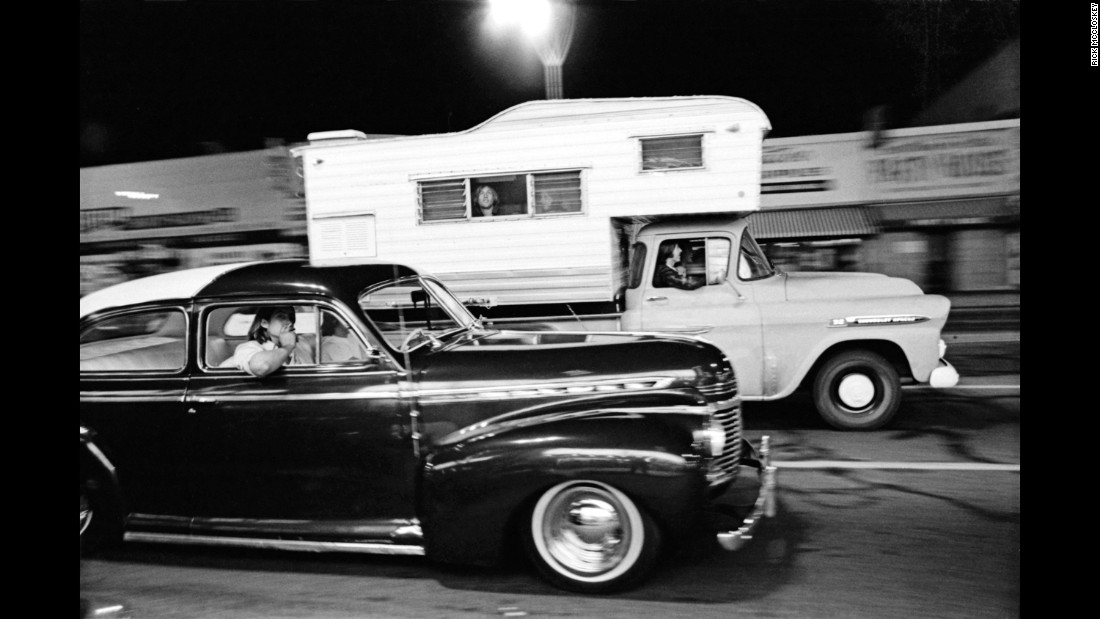 "By the early 1980s, the cruising scene had all but vanished on Van Nuys. Among the reasons was a business backlash, McCloskey said. ""Many of the business people really weren't too thrilled with (cruising) because they'd find beer cans on their porches and stuff. And ultimately, they did pass legislation or traffic rules that you couldn't cruise."""