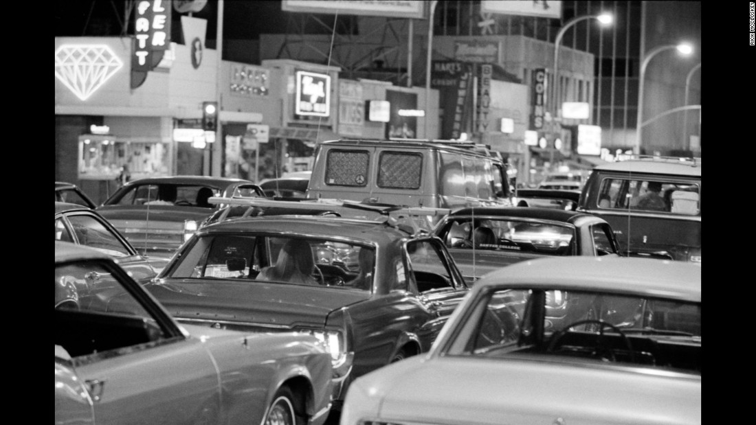 """This phenomenon, this cruising cars, is so American,"" McCloskey said. ""At the time, for 25 years, it was the American thing for young people to do."""