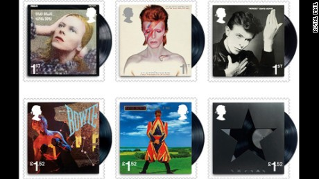 David Bowie Stamps In Britain Honor Musical Giant Cnn Com