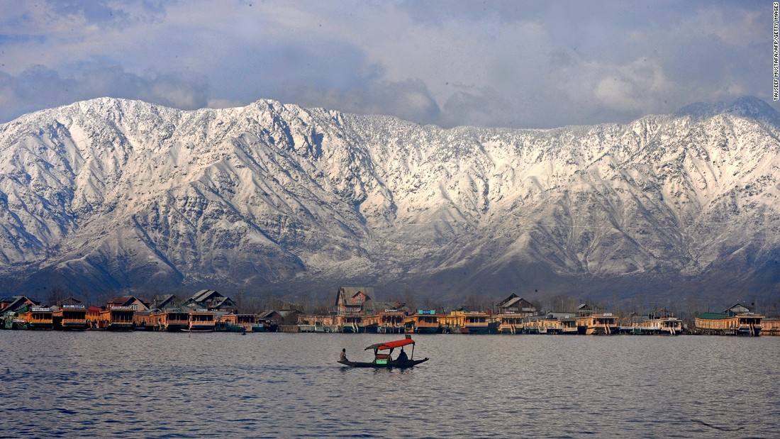 "<strong>Dal Lake, Srinagar:</strong> Known as the ""jewel in the crown"" of Indian-administered Kashmir, Dal Lake is a Srinagar must-visit. Lined by beautiful gardens and snowcapped mountains, the lake is best toured while riding a traditional wooden shikara, Srinagar's version of the gondola."