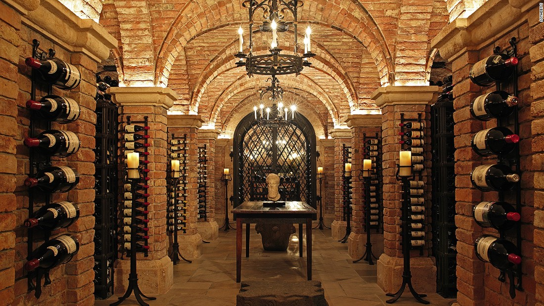 "US billionaire William Koch's Palm Beach wine cellar is reminiscent of classic European design. Housed in an underground labyrinth constructed from Austrian red bricks, the 20,000-bottle collection is one of the largest in America. ""An incredible attention to detail was needed to create this masterpiece,"" says Sotheby's Adam Bilbey. ""With Koch's legendary collection of wine, it was fitting it should cellared in such a beautiful way."""
