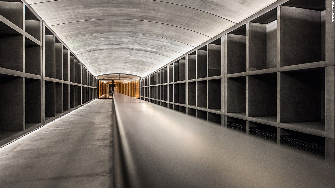 A centuries-old French institution, Chateau Margaux recently unveiled two new additions for oenophiles, a Research and Development Centre and a 230-foot-long Vinothèque (specialist wine storage unit) designed by Sir Norman Foster.