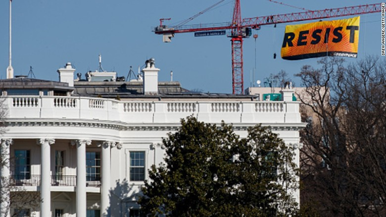 Image result for greenpeace protest white house