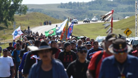 North Dakota legislation was introduced after protests over the Dakota Access Pipeline.