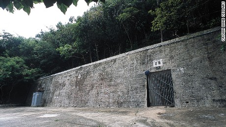 Crown Wine Cellars in Hong Kong was a former secret military facility