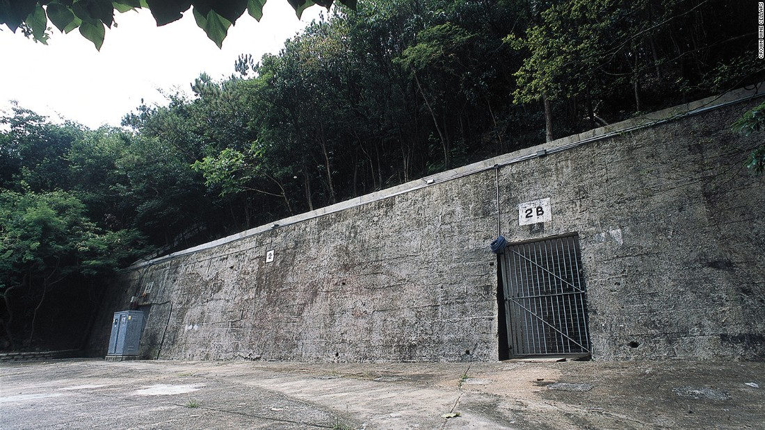 The underground cellars feature a mix of reinforced concrete walls, metal shelves and wooden crates that hold over $350 million worth of wine. The UNESCO-accredited Shouson Hill site was a former secret military facility, as well as the last allied position to fall to the invading Japanese in the Battle of Hong Kong in 1941.