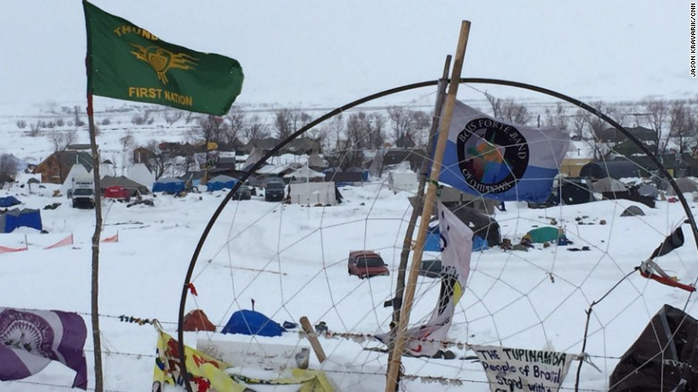 DAPL protesters: Trump's executive order violates the law